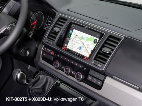 Waze-Screen-Navigation-for-Volkswagen-T6-X802D-U-with-KIT-802T5