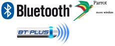 />Díky Parrot Bluetooth,umožňuje tento přijímač hans-free operace z Bluetooth mobilního telefonu všetně úplného přístupu k telefonnímu seznamu.</p> <p>BT Plus nabízí celou řadu dalších funkcí, jakou jsou SMS, indikátor síly signálu GMS, automatická aktualizace telefonního seznamu, vyhledávání v telefonním seznamu podle abecedy, 5 přednastavení, ID 3 tagový displej na přehrávání streamované hudby, Indikátor stavu baterie a celou řadu dalších funkcí.</p> <p><strong>Funguje s Nokií</strong></p> <p><img src=