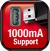 />Protože hlavní jednotka podporuje 1 ampérové napájení, můžete připojovat a napájet přenosné pevné disky. Tak získáte do svého vozu celou hudební knihovnu.</p> <h3>Rychlé nabíjení pro váš iPhone</h3> <p><img src=