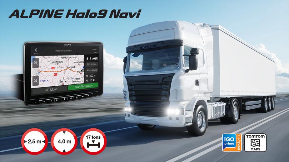 Alpine Halo9 Navi - INE-F904DC