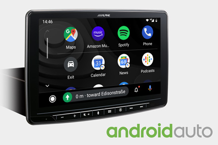 INE-F904DC - Works with Android Auto