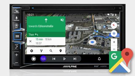 Google Maps - INE-W611DC