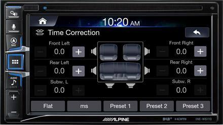 Sound Tuning - INE-W611DC