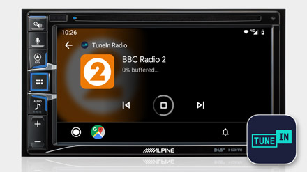 TuneIn Radio - INE-W611DC