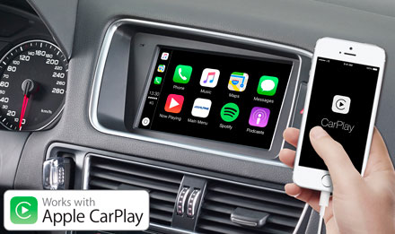 Audi Q5 - Works with Apple CarPlay - X702D-Q5