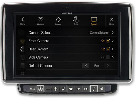 Multi Camera Selector Interface KCX-C250MC