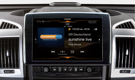 Ducato, Jumper and Boxer - DAB Digital Radio - X903D-DU
