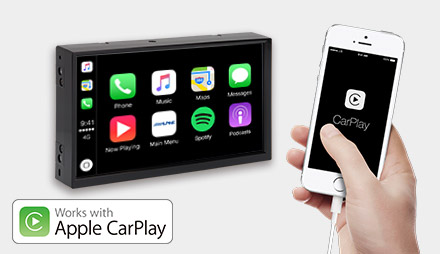 Freestyle - Works with Apple CarPlay - X703D-F