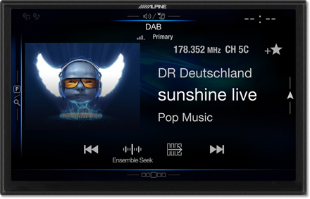 DAB+Digital Radio - Navigation System X901D-F