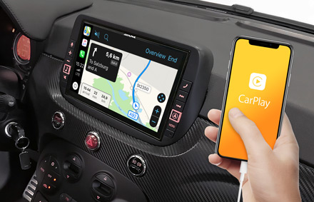 Online Navigation with Apple CarPlay - X903D-F