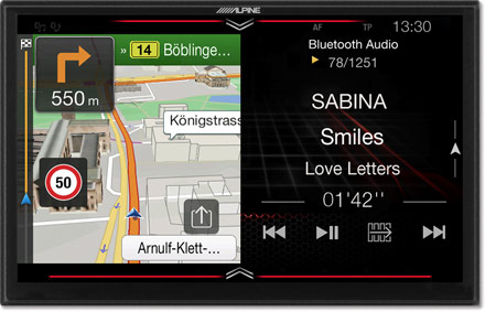 Freestyle - Navigation - One Look Display  - X903DC-F