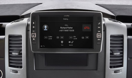Mercedes Sprinter - Built-in Bluetooth® Technology - X902D-S906