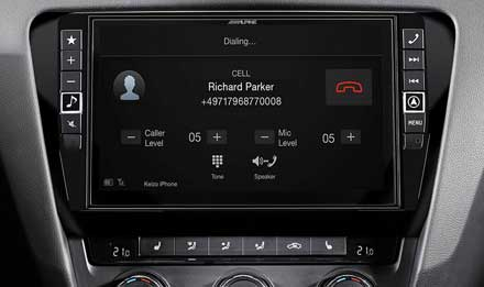 Skoda Octavia 3 - Built-in Bluetooth® Technology - X901D-OC3