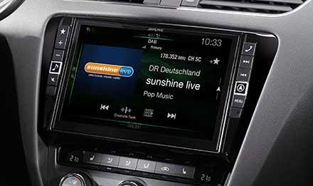 Skoda Octavia 3 - DAB Digital Radio - X901D-OC3