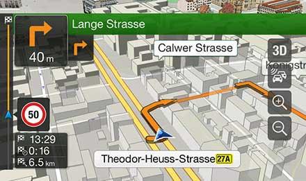 Skoda Octavia 3 - Navigation - 3D Maps  - X901D-OC3