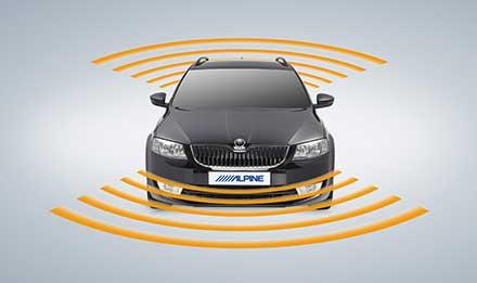 Skoda Octavia 3 - Parking Sensors - X901D-OC3