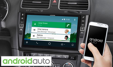 Golf 6 - Works with Android Auto - X902D-G6
